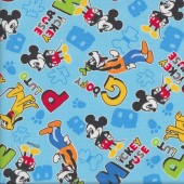 Mickey Mouse Goofy Fabric