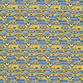 Minions Bello! Despicable Me Kids Boys Girls Licensed Quilt Fabric