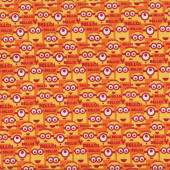 Minions Bello! Despicable Me Yellow Orange Boys Girls Licensed Quilt Fabric
