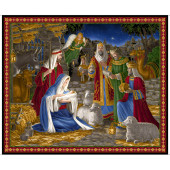 Miracle in Bethlehem Mary Jesus Christmas Quilting Fabric Panel