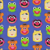 Muppets Quilting Fabric
