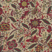 Bohemian Flowers The Old Sturbridge Collection Quilting Fabric