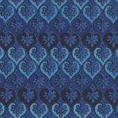 Blue Palermo Greta Lynn Quilting Fabric