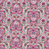 Pandas in Pink Quilting Fabric
