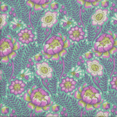 Petal Heads Tula Pink Lunar Spirit Animal Quilting Fabric