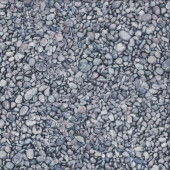 The Potted Garden Grey Pebbles Nature Landscape Quilting Fabric
