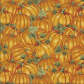 Pumpkins Vegetable Veggie Kitchen Quilting Fabric