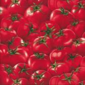 Red Juicy Tomatos Vegetable Veggies Quilting Fabric