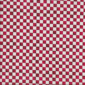 Red and White Check Kitchen Home Quilting Fabric