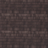 Dark Brown House Roof Shingles Tiles Tiling Quilting Fabric