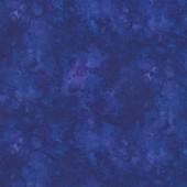Royal Blue Solid ish Basic Tonal Blender Quilting Fabric