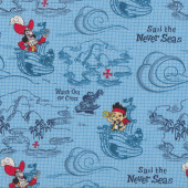 Jake and The Neverland Pirates Sail The Never Seas Quilt Fabric