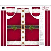 Santas Fabric Panel