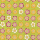 Satsuki Green Quilting Fabric