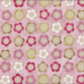 Satsuki Blossom Pink Quilting Fabric
