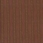 Pillar Stripe Sepia Brown Quilting Fabric