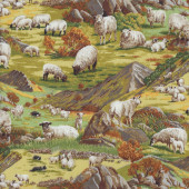 Sheep Hills Quilting Fabric