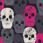 Skulls Rock Quilting Fabric