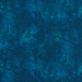 Azure Blue Solid ish Basic Tonal Blender Quilting Fabric