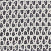 Spark Plugs on White Mechanic Boys Mens Quilting Fabric