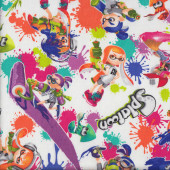 Splatoon Inklings Nintendo Video Game Fabric
