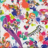 Splatoon Inklings Nintendo Video Game Fabric