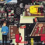 Star Trek on Black Kirk And Spock Boys Kids Licensed Quilt Fabric