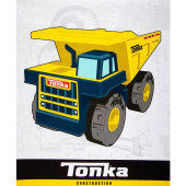 Tonka Dump Truck Construction Boys Kids Quilting Fabric Panel