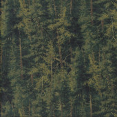 Trees Forest Woods Nature Landscape Quilting Fabric