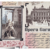 Tres Jolie Paris Paris Landmarks Buidlings Quilting Fabric