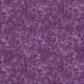 Cat-i-tude Triangular Motion Purple Metallic Gold Catitude Quilting Fabric