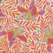 Tula Pink Birds Re Tweet Sunkiss Orange Quilting Fabric