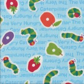 Hungry Caterpillar Fruit Quilting Fabric