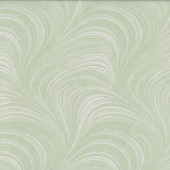 Leaf Pastel Green Wave Texture Marble Blender Quilting Fabric