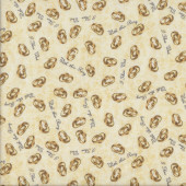 Wedding Rings With This Ring Marriage Quilting Fabric