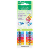 Wonder Clips 10 Assorted Colours Clover Brand