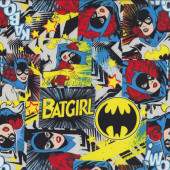 Wonder Woman Batgirl DC Comics Girls Licensed Quilt Fabric