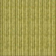 Green Bamboo Garden Quilting Fabric