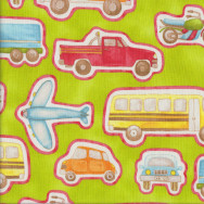 Cars Happy Town Quilting Fabric