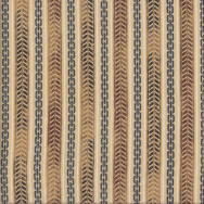 Motorcycle Tyre Marks and Chains on Tan Quilting Fabric
