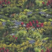 Australian National Park Native Flora Quilting Fabric