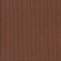 Pillar Stripe Sepia Brown Quilting Fabric
