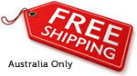 Free Shipping to Australia only